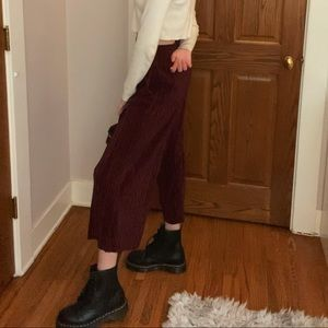TopShop Pleated Trousers